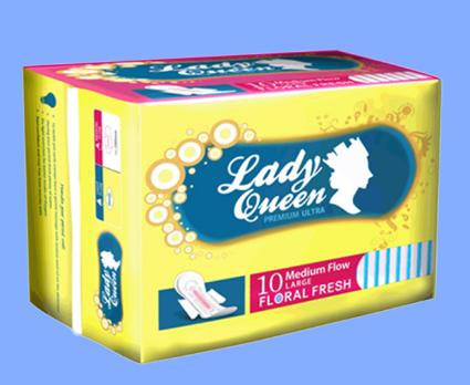 Sanitary Pad With Leakguard, Super Care Factory Price Disposable Women Sanitary Pad