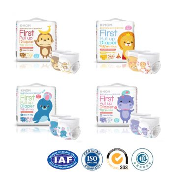 Disposable baby diaper manufacturer in Guangzhou with OEM service